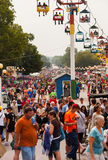 Crowd at Iowa State Fair Royalty Free Stock Image
