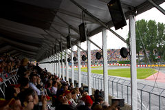 The crowd at Montreal Grand prix Royalty Free Stock Photography