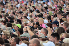 Crowd Royalty Free Stock Photo