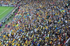 Free Crowd Of Fans Stock Image - 86098681