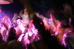 crowd party Στοκ Φωτογραφία