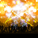 Crowd of Party People Royalty Free Stock Photos