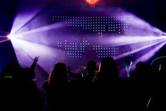 Crowd During a Party or Wedding reception Stock Photo