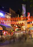 Crowd partying, nightlife in Eindhoven, The Nether Royalty Free Stock Image