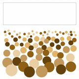 Crowd of people. Looking at blank sign illustrated abstract vector illustration