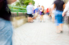 Crowd of people. Royalty Free Stock Images