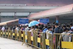 Crowd people Stock Photo