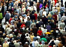 Crowd of people Royalty Free Stock Photos