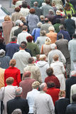 Crowd of people. In the city Royalty Free Stock Photography