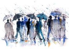 Crowd vector illustration