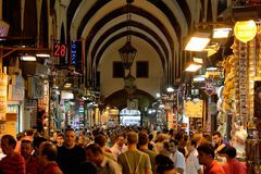 Crowds at the Grand Bazaar Royalty Free Stock Photography