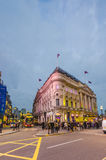 Crowd in Piccadilly Circus, London Stock Image