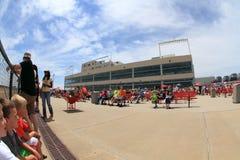 Crowd at Prairie Meadows Stock Image