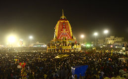 Crowd at Ratha Yatra Royalty Free Stock Photography