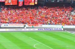 Crowd at stadium Stock Photography