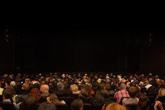 Crowd at theater Stock Photos