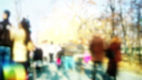 Crowd time lapse, stock footage stock footage