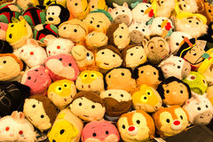 Crowd of toys. Royalty Free Stock Photo
