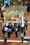 Crowd at Venchi Shop Royalty Free Stock Image