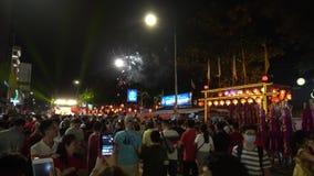 Crowd visit to Chew Jetty celebrate Jade Emperor birthday