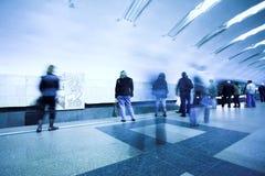 Crowd waiting train royalty free stock image