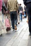 Crowd walking Royalty Free Stock Image