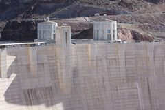 Crowd Watching at Hoover Dam Stock Photography