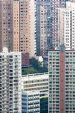 Crowded apartment in Hong Kong Stock Photography