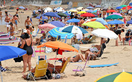 Uruguayan Beach Stock Image