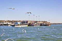 So crowded at Bet Dwarka Quayside Royalty Free Stock Photography