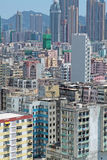 Crowded buildings Royalty Free Stock Photo