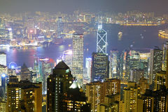Crowded city, Hongkong Royalty Free Stock Photography