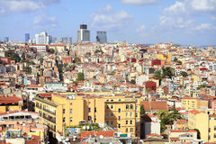 Crowded city of Istanbul Stock Image