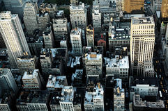 Crowded city of New York Royalty Free Stock Images
