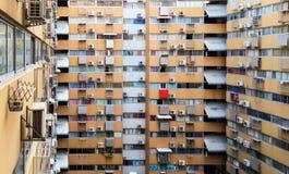 Crowded condominium Stock Images