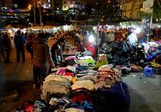 Crowded, Dalat night market, marketplace, shopping royalty free stock photography