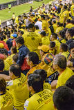 Crowded Grandstand of Barcelona Guayaquil Fans Royalty Free Stock Photos