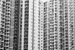 Crowded high density housing Royalty Free Stock Photos
