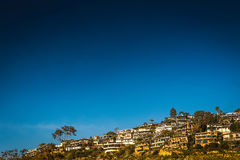 Crowded Homes on hillside Royalty Free Stock Image