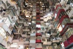 Crowded Hong Kong Royalty Free Stock Photos