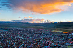 Crowded House of Yaqing Temple royalty free stock images