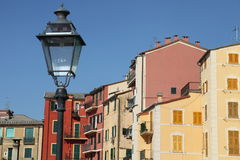 Crowded houses Stock Photos