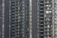 Crowded housing in china Royalty Free Stock Photos