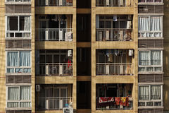 Crowded housing in china Royalty Free Stock Photography