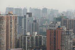 Crowded housing in china Stock Photos