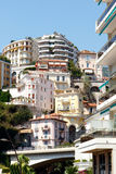 Crowded luxury apartments, Monte Carlo Stock Images