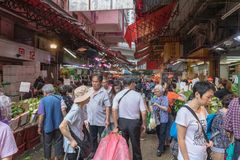 Crowded Market Stock Photos
