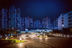 Crowded and old asian housing Royalty Free Stock Images