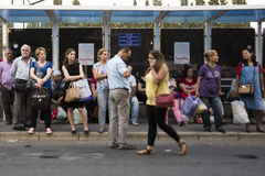 Crowded people Stock Images