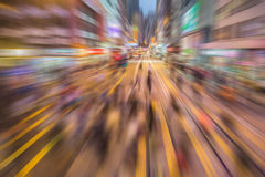 Crowded people living in rush Royalty Free Stock Photos